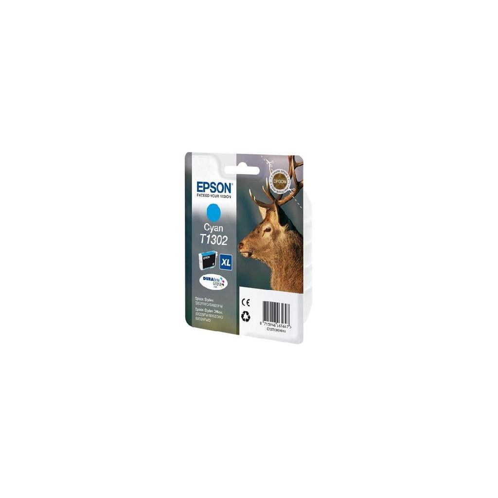 Картридж EPSON SX525WD/B42WD/BX320FW cyan XL (C13T13024010/C13T13024012)