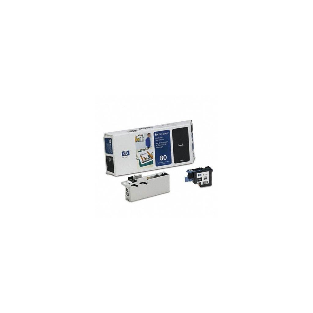 Печатающая головка HP №80 DesignJ1050/1055 black (C4820A)