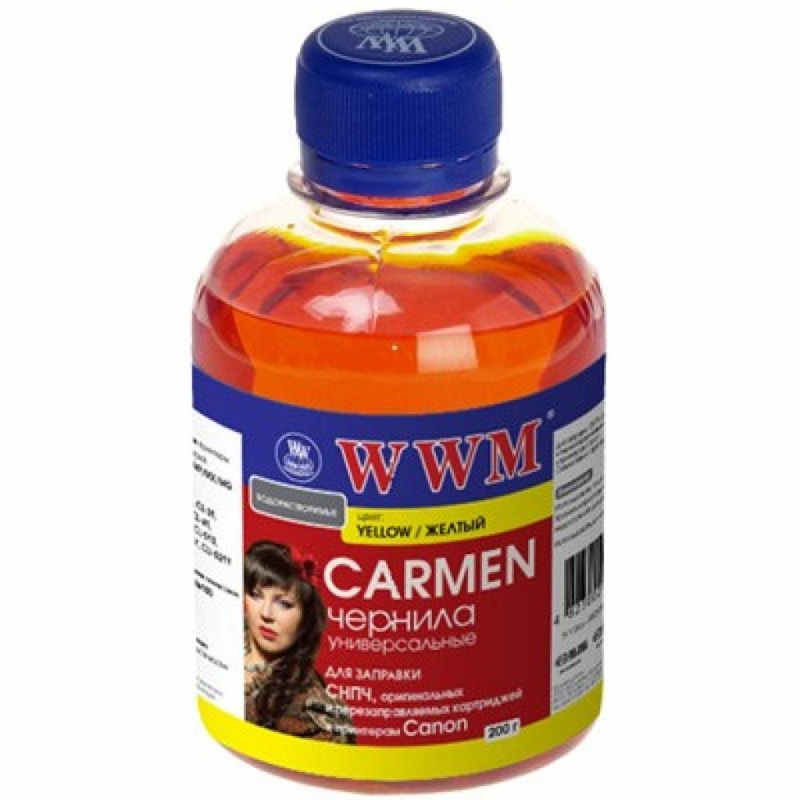 Чернила WWM CANON UNIVERSAL CARMEN Yellow (CU/Y)