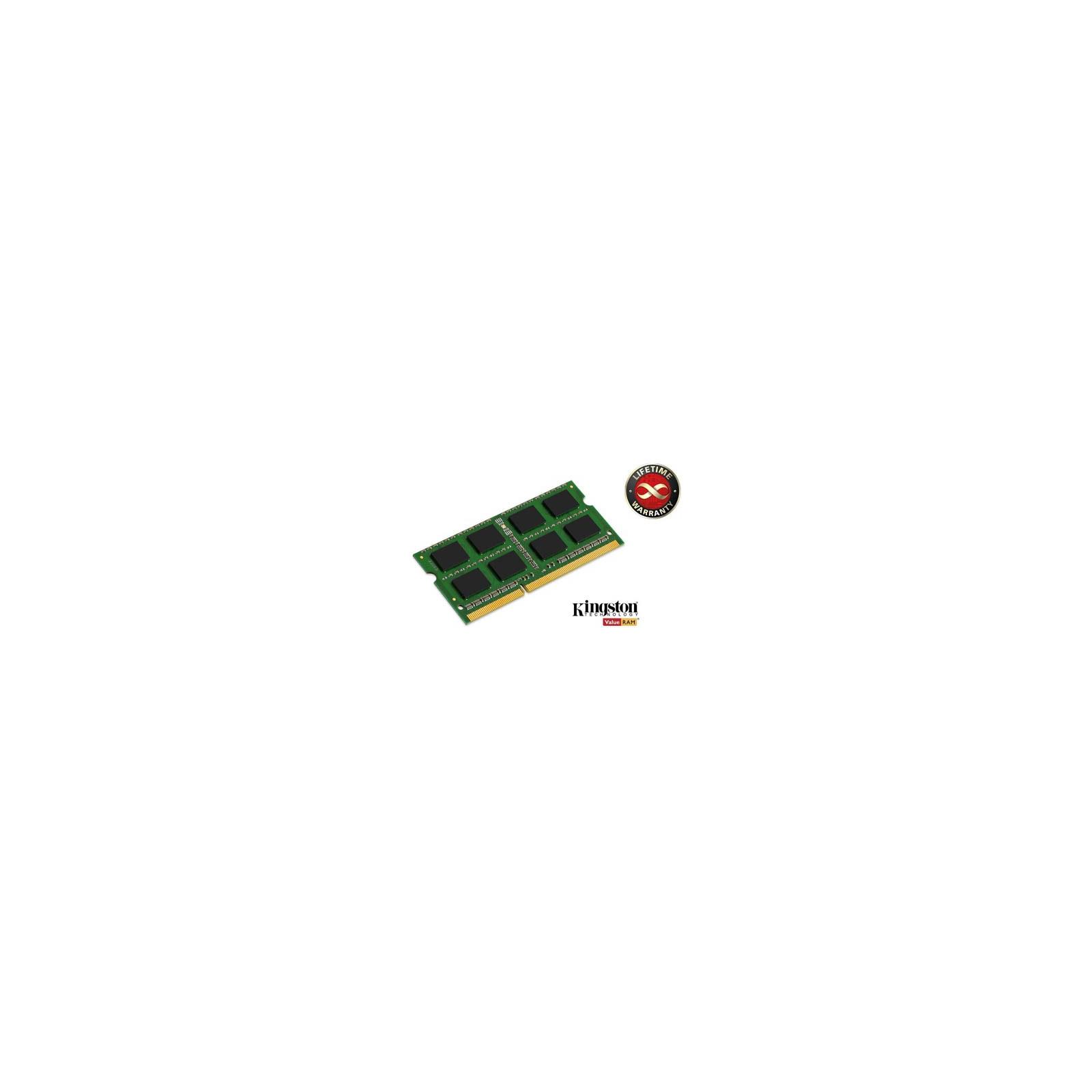 Модуль памяти для ноутбука SoDIMM DDR3 4GB 1066 MHz Kingston (KVR1066D3S7/4G)