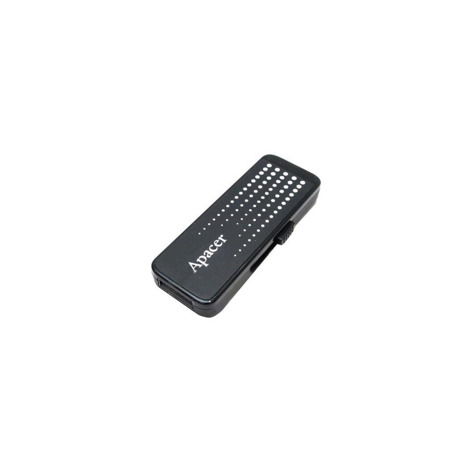 USB флеш накопитель Handy Steno AH323 black Apacer (AP8GAH323B-1) изображение 2