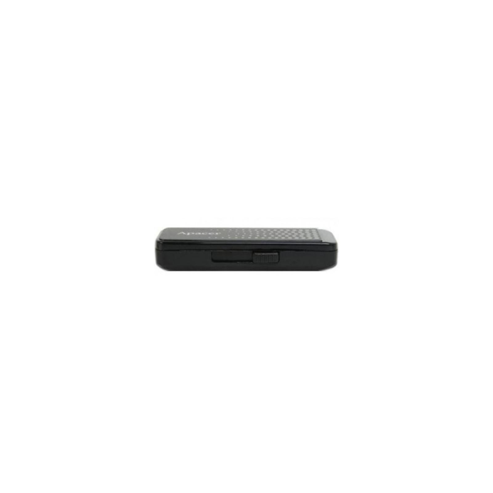 USB флеш накопитель Handy Steno AH323 black Apacer (AP8GAH323B-1) изображение 4