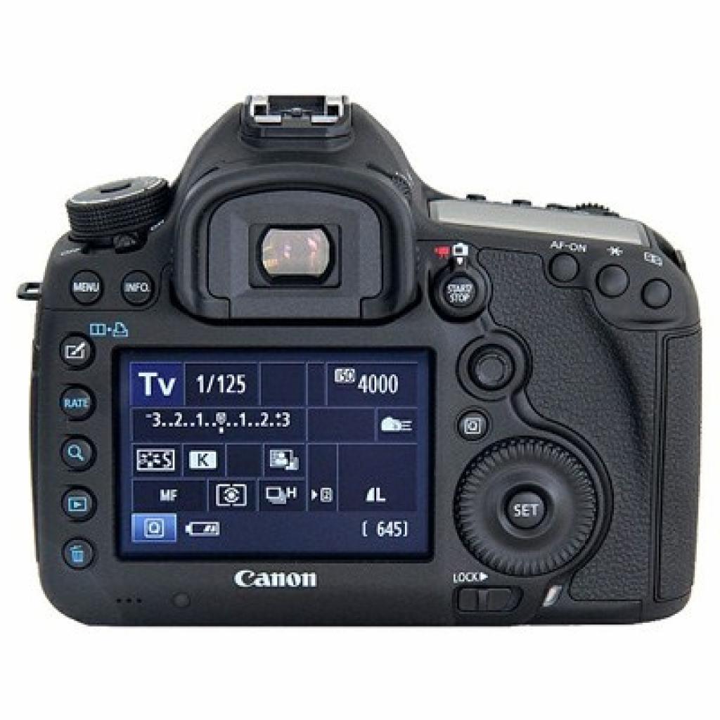 Цифровой фотоаппарат Canon EOS 5D Mark III body (5260B025) изображение 2