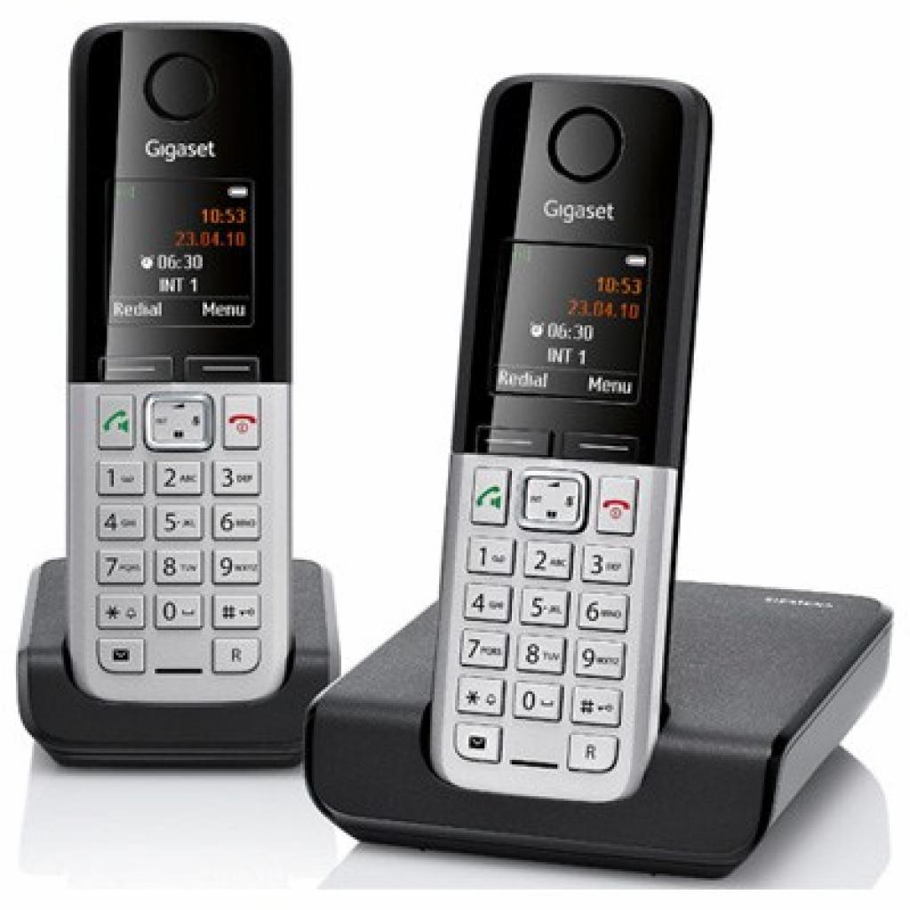 Телефон DECT Gigaset C300 DUO Black (L36852H2203S301)