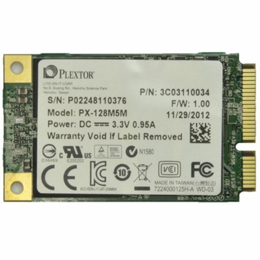 Накопитель SSD mSATA 128GB Plextor (PX-128M5M)