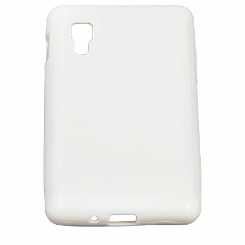 Чехол для моб. телефона Drobak для LG Optimus L4 E440 /Elastic PU/White (211537)