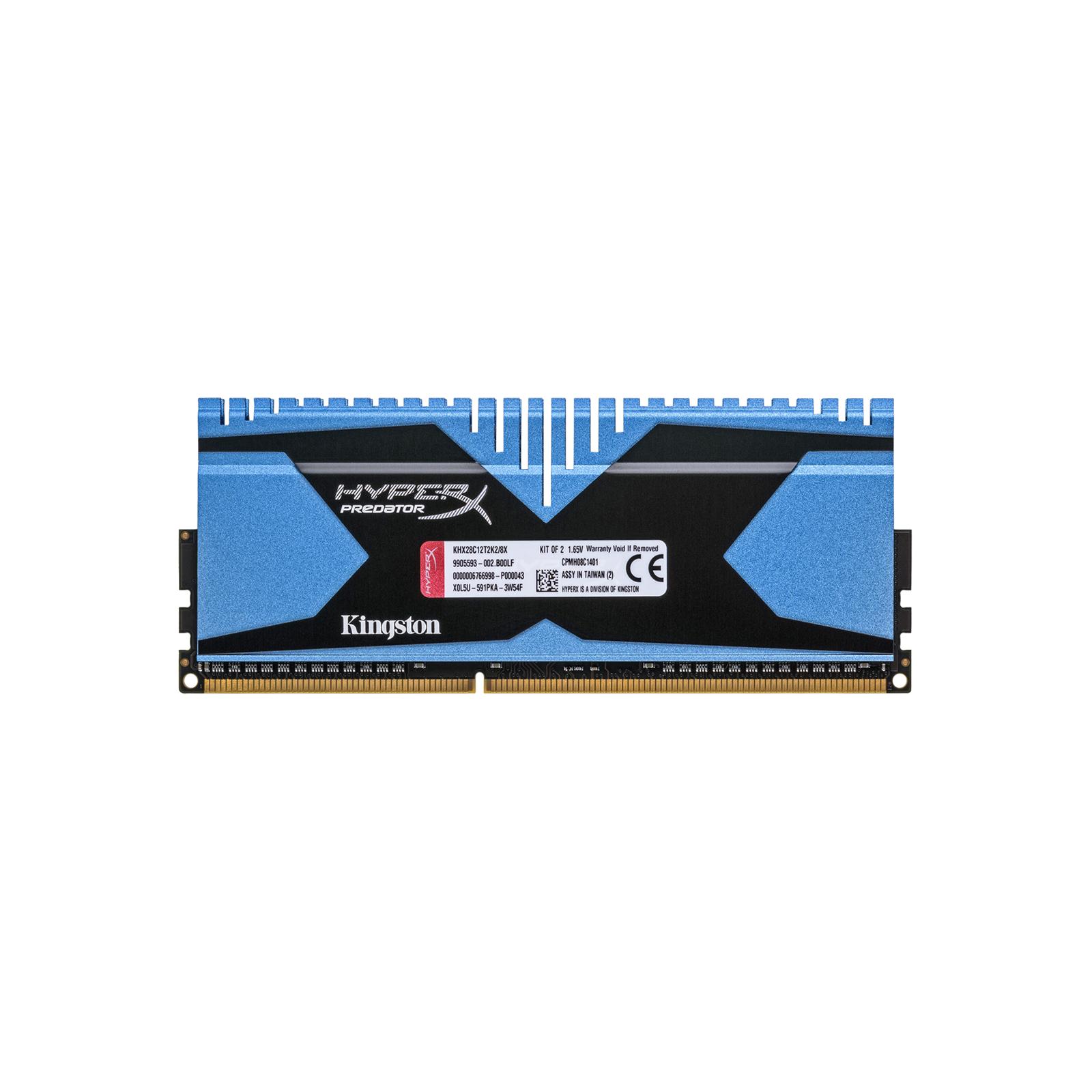 Модуль памяти для компьютера DDR3 8GB (2x4GB) 2800 MHz Kingston (KHX28C12T2K2/8X) изображение 2