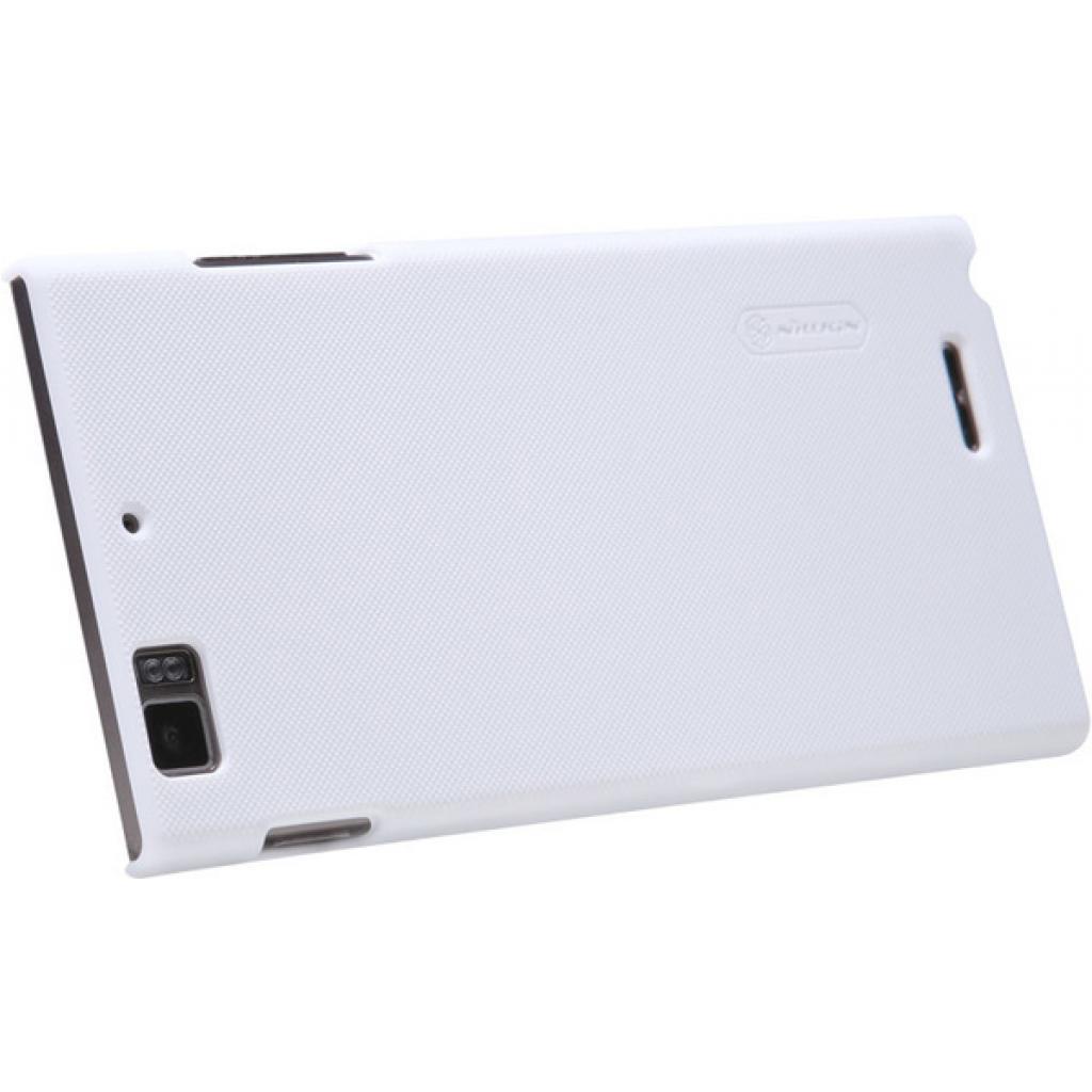 Чехол для моб. телефона NILLKIN для Lenovo K900 /Super Frosted Shield/White (6077006) изображение 4