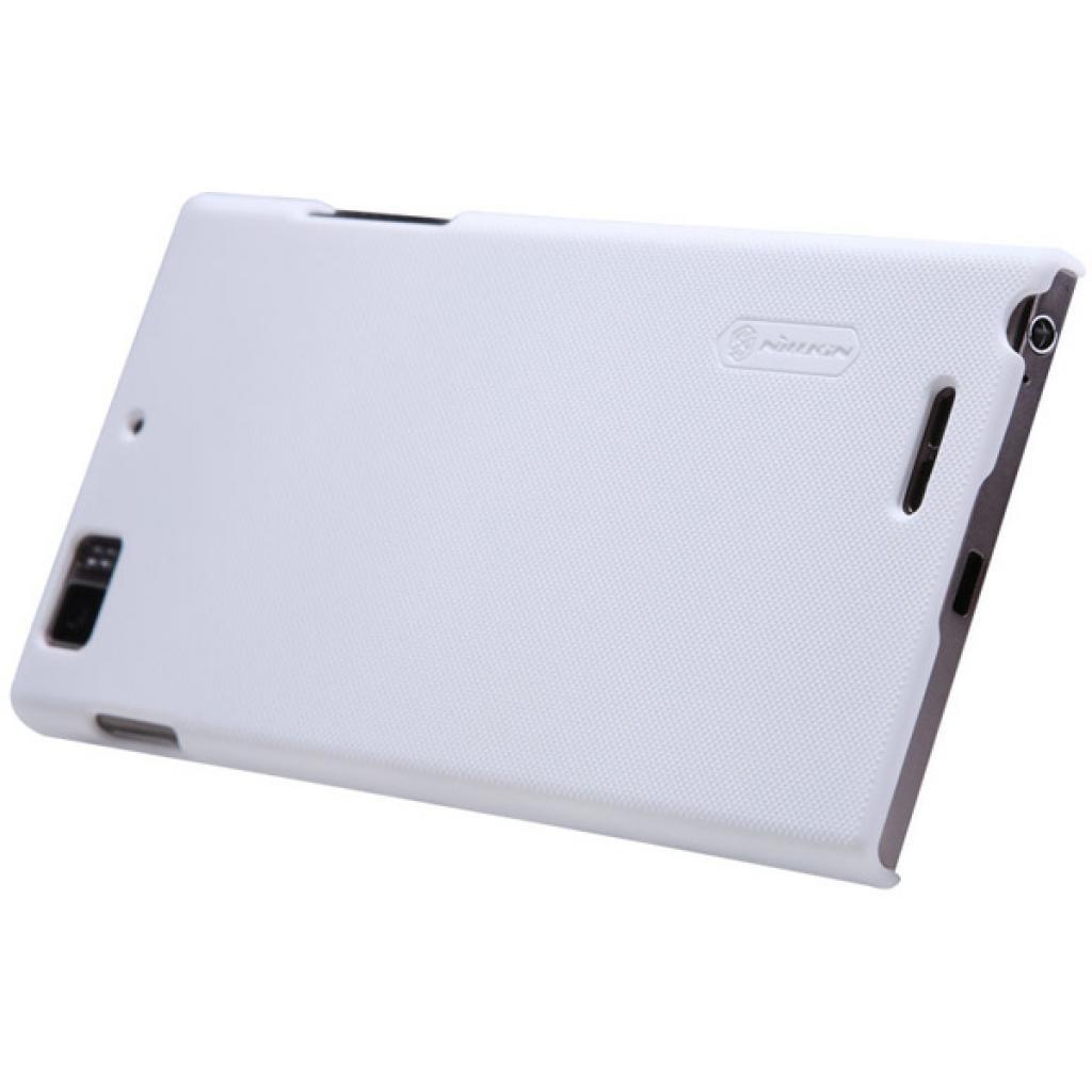 Чехол для моб. телефона NILLKIN для Lenovo K900 /Super Frosted Shield/White (6077006) изображение 5