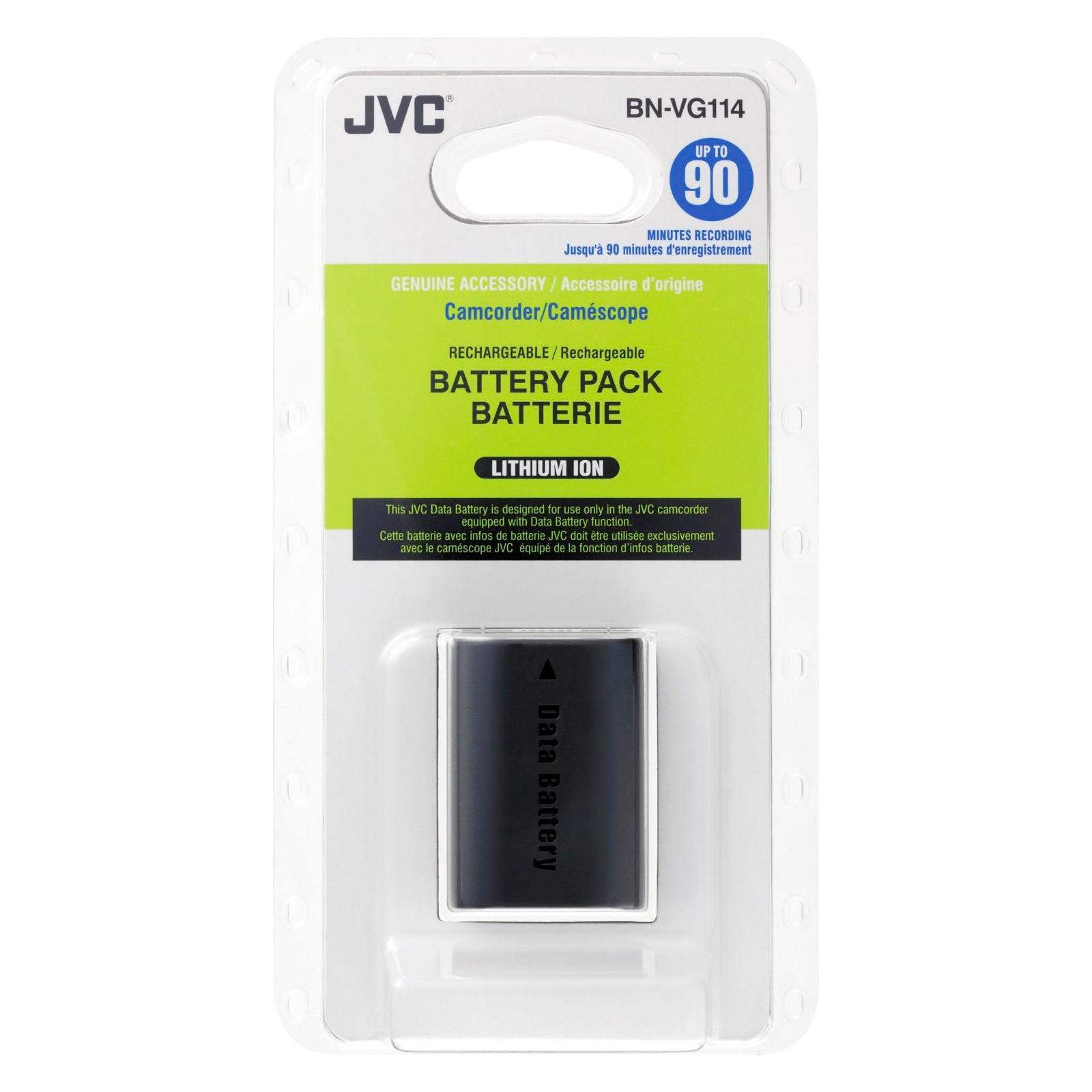 Аккумулятор к фото/видео JVC BN-VG114E изображение 4