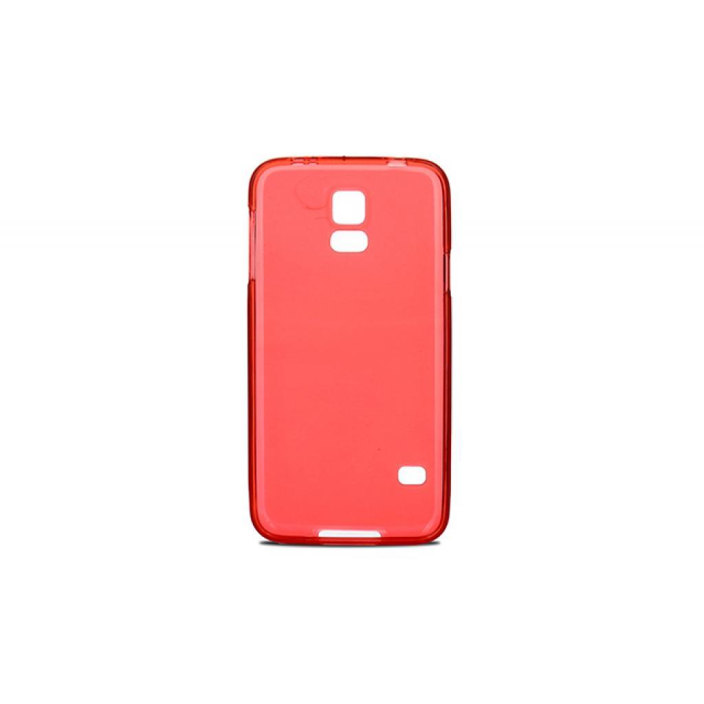 Чехол для моб. телефона для Samsung Galaxy S5 G900 (Red Clear) Elastic PU Drobak (216085) изображение 2