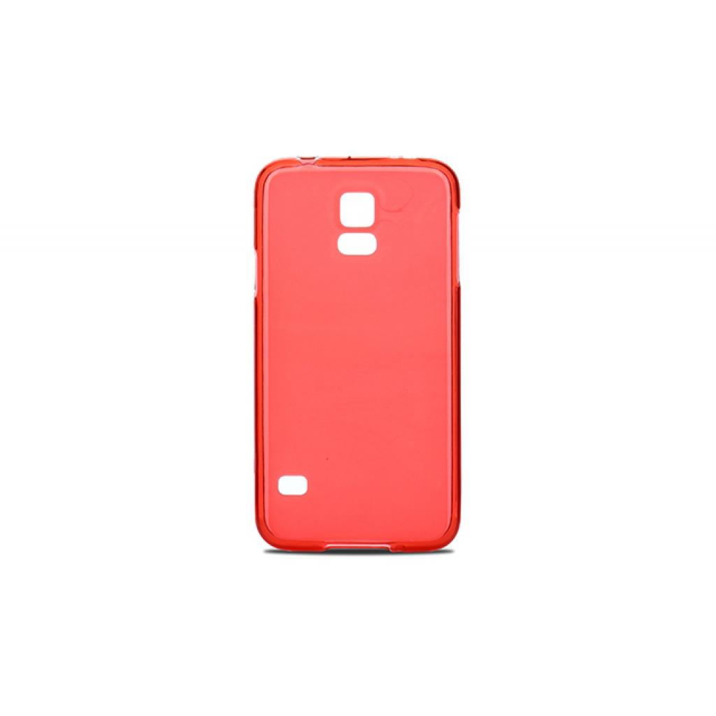 Чехол для моб. телефона для Samsung Galaxy S5 G900 (Red Clear) Elastic PU Drobak (216085)