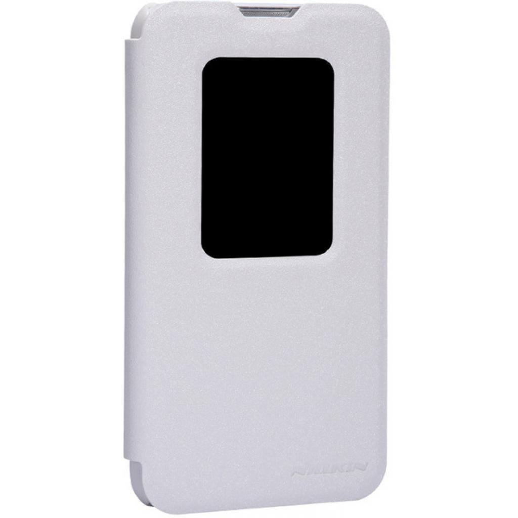 Чехол для моб. телефона NILLKIN для LG L70 Dual /Spark/ Leather/White (6154931) изображение 2