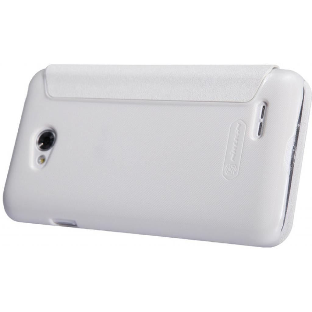 Чехол для моб. телефона NILLKIN для LG L70 Dual /Spark/ Leather/White (6154931) изображение 3