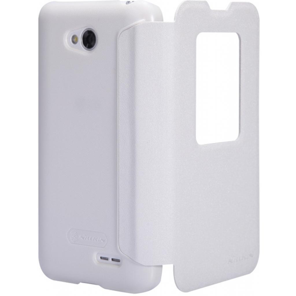 Чехол для моб. телефона NILLKIN для LG L70 Dual /Spark/ Leather/White (6154931) изображение 4