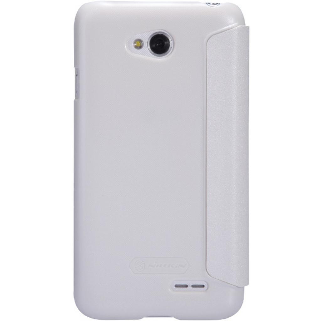 Чехол для моб. телефона NILLKIN для LG L70 Dual /Spark/ Leather/White (6154931) изображение 5