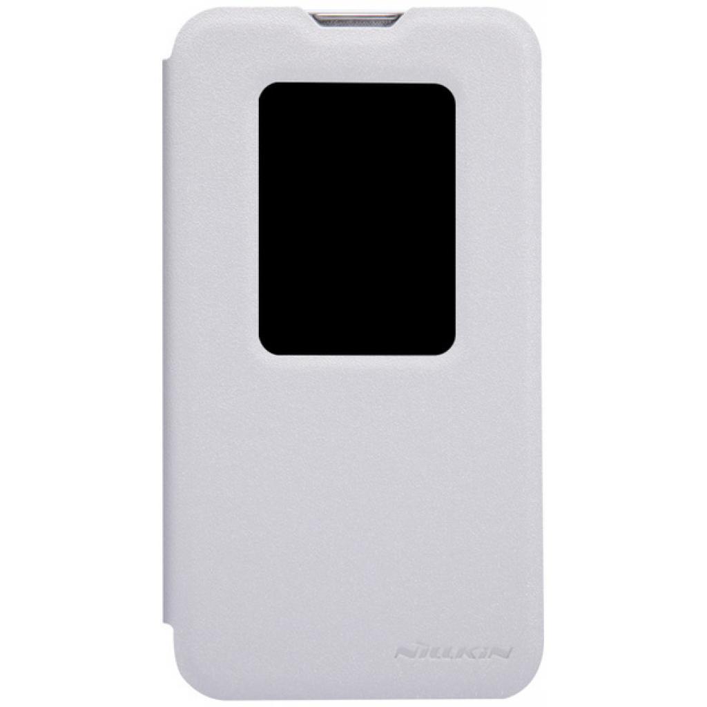 Чехол для моб. телефона NILLKIN для LG L70 Dual /Spark/ Leather/White (6154931)