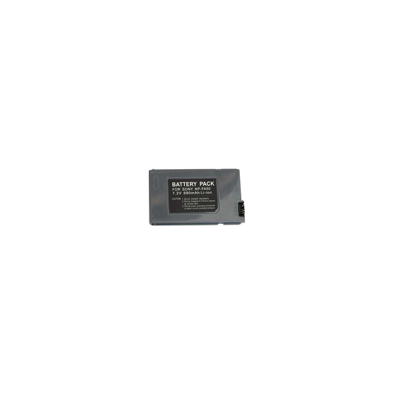 Аккумулятор к фото/видео PowerPlant Sony NP-FA50 (DV00DV1064)