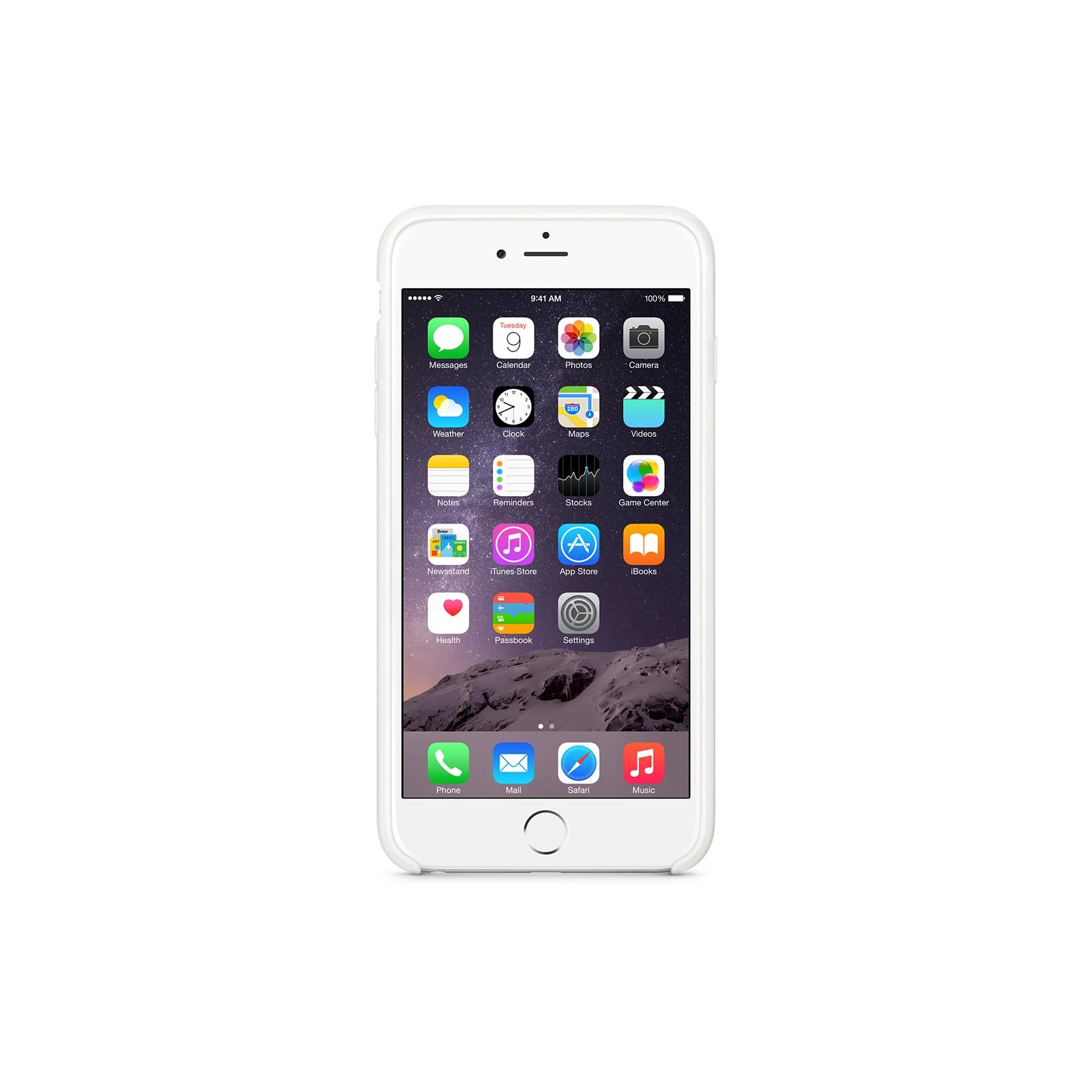Чехол для моб. телефона Apple для iPhone 6 /white (MGRF2ZM/A) изображение 5