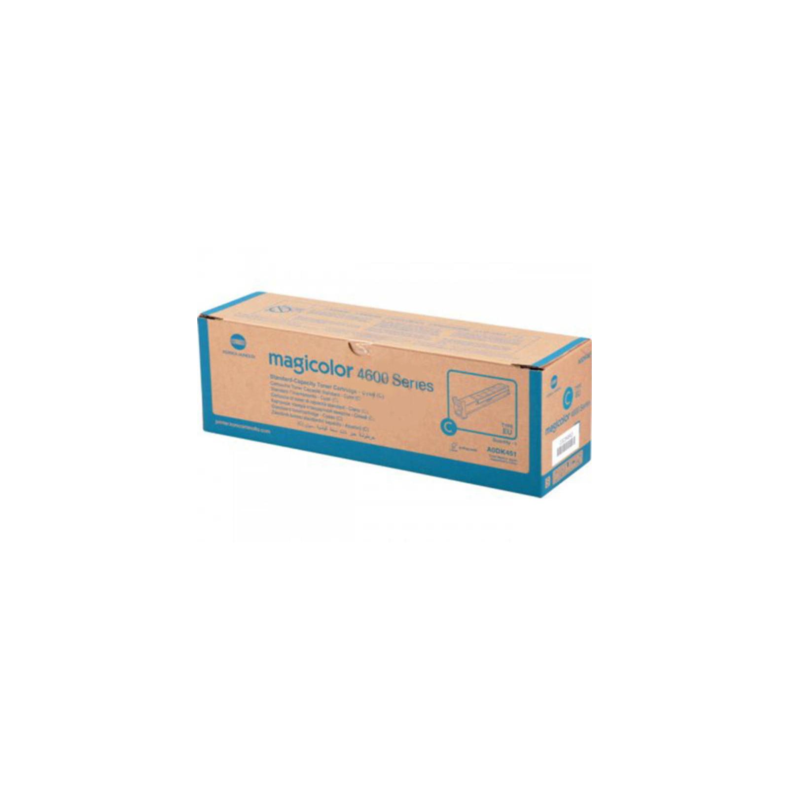 Тонер-картридж KONICA MINOLTA MagiColor 4600 Series (Cyan) 4К (A0DK451)
