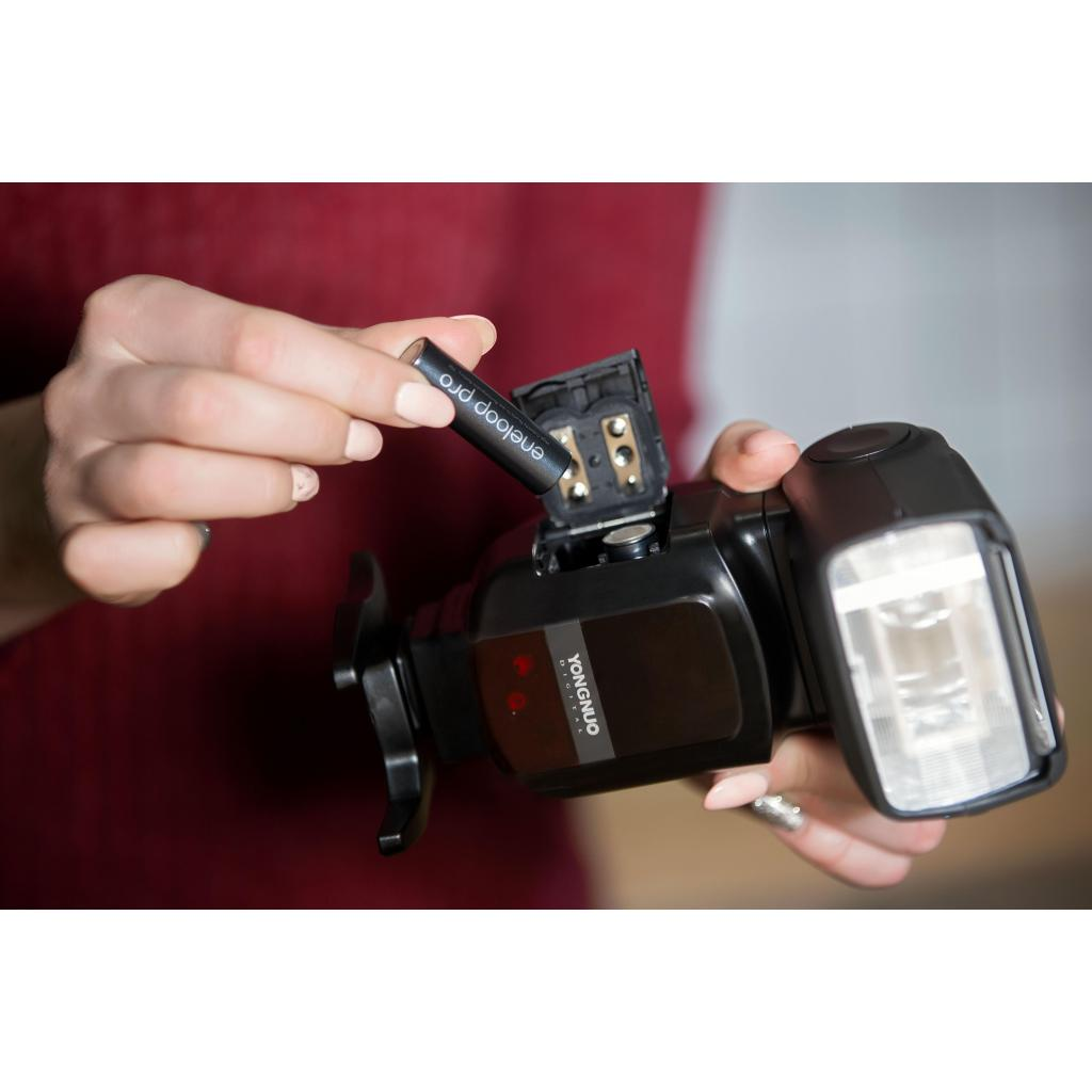 Аккумулятор Panasonic Eneloop Pro AA 2500mAh NI-MH * 4 (BK-3HCDE/4BE) изображение 5