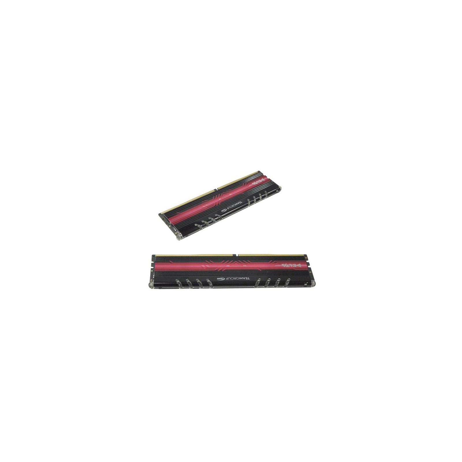 Модуль памяти для компьютера DDR4 16GB (2x8GB) 2400 MHz Delta Red LED Team (TDTRD416G2400HC15ADC01) изображение 2
