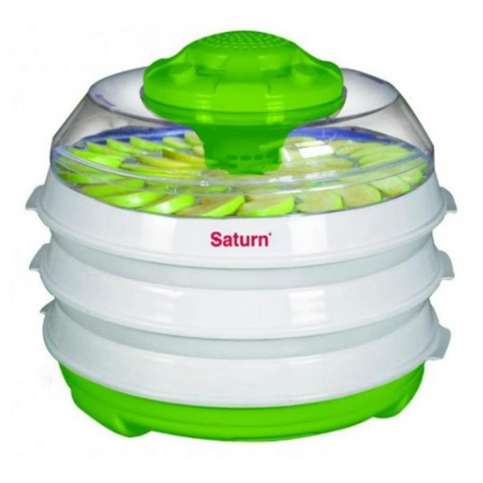 Сушка для овощей и фруктов SATURN ST-FP0112 Green-white