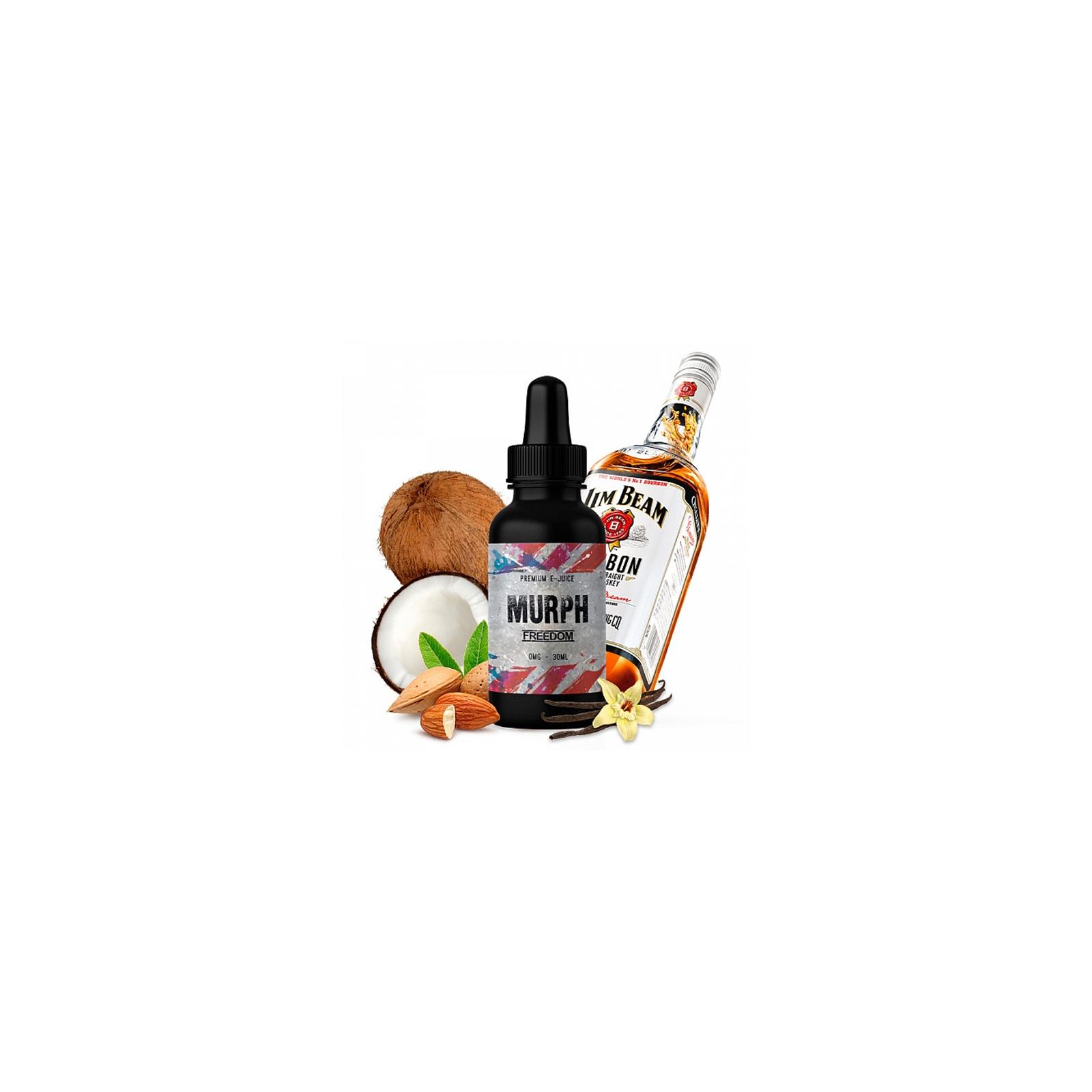 "Жидкость для электронных сигарет Murph ""Freedom"" 30 ml 0 мг/мл (MP-FR-30-0)"