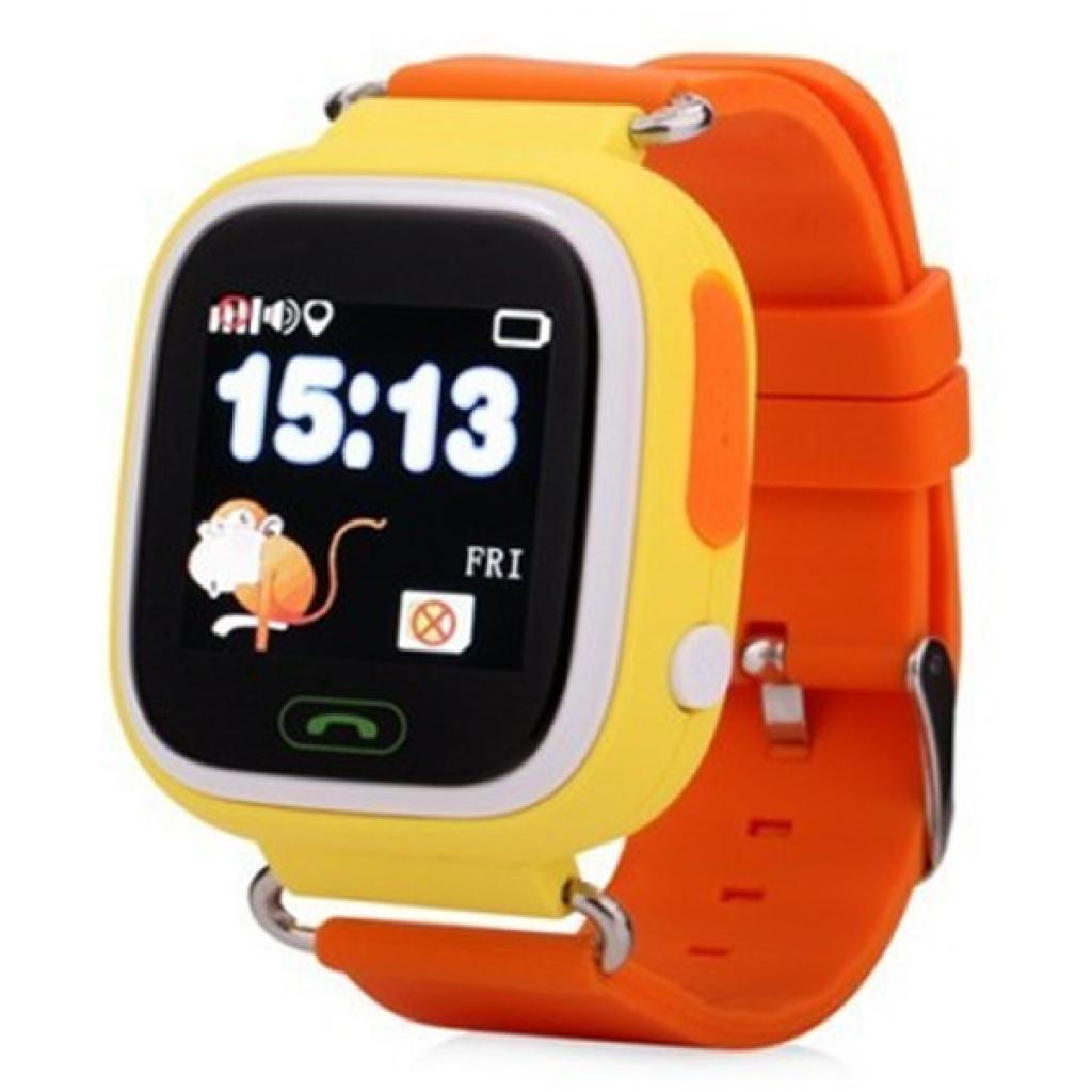 Смарт-годинник ATRIX SW iQ400 Touch GPS Yellow ціни в Києві та ... c97f6f71d7c9f