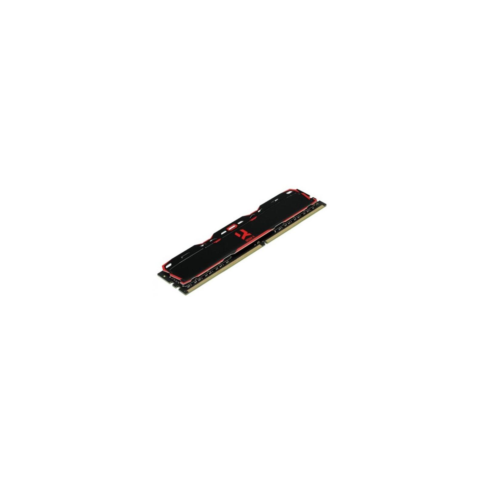 Модуль памяти для компьютера DDR4 8GB 3000 MHz Iridium X Black Goodram (IR-X3000D464L16S/8G) изображение 2