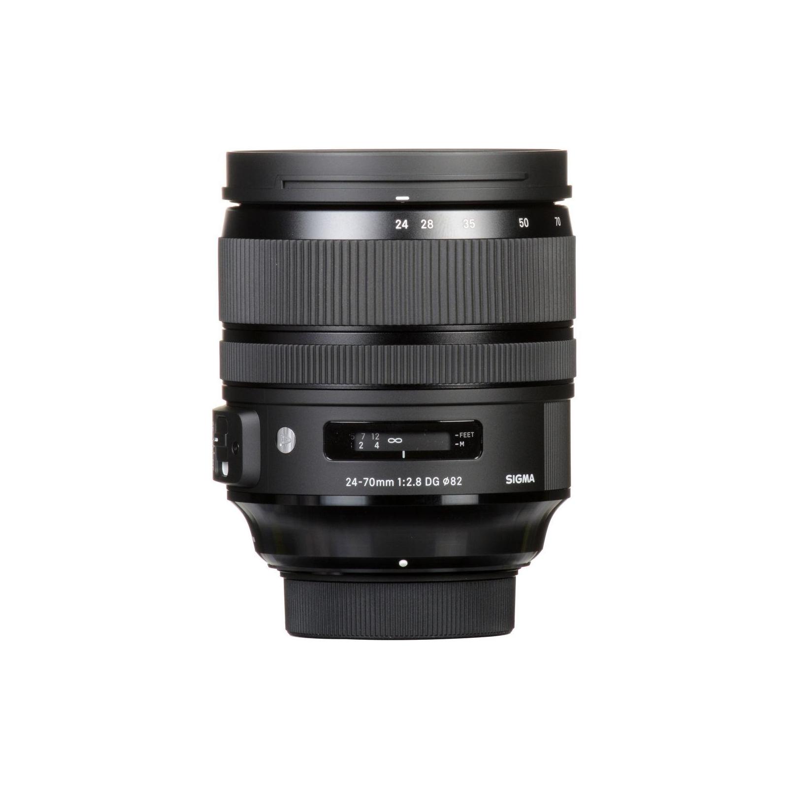 Объектив Sigma AF 24-70/2,8 EX DG OS HSM Art Nikon (576955) изображение 6