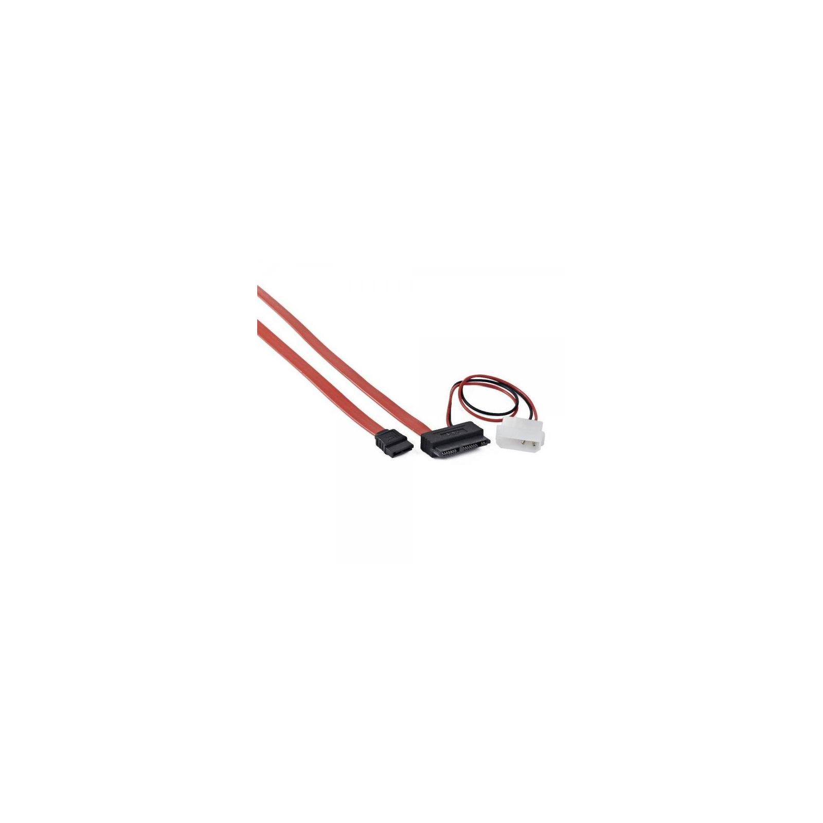 Кабель для передачи данных Molex+SATA to MicroSATA 0.25m Cablexpert (CC-MSATA-001) изображение 3