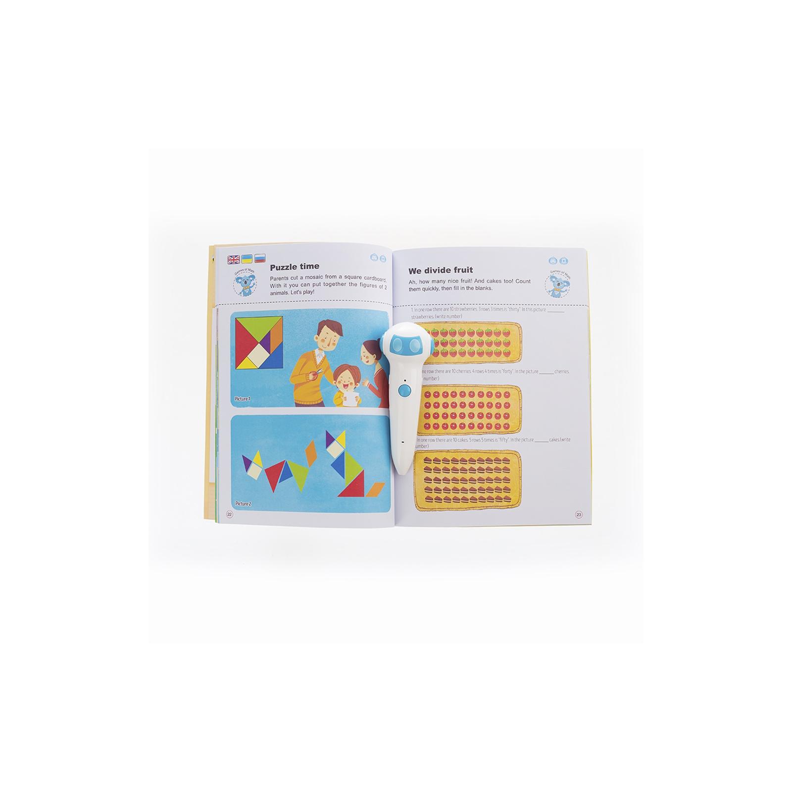 Интерактивная игрушка Smart Koala развивающая книга The Games of Math (Season 4) №4 (SKBGMS4) изображение 3