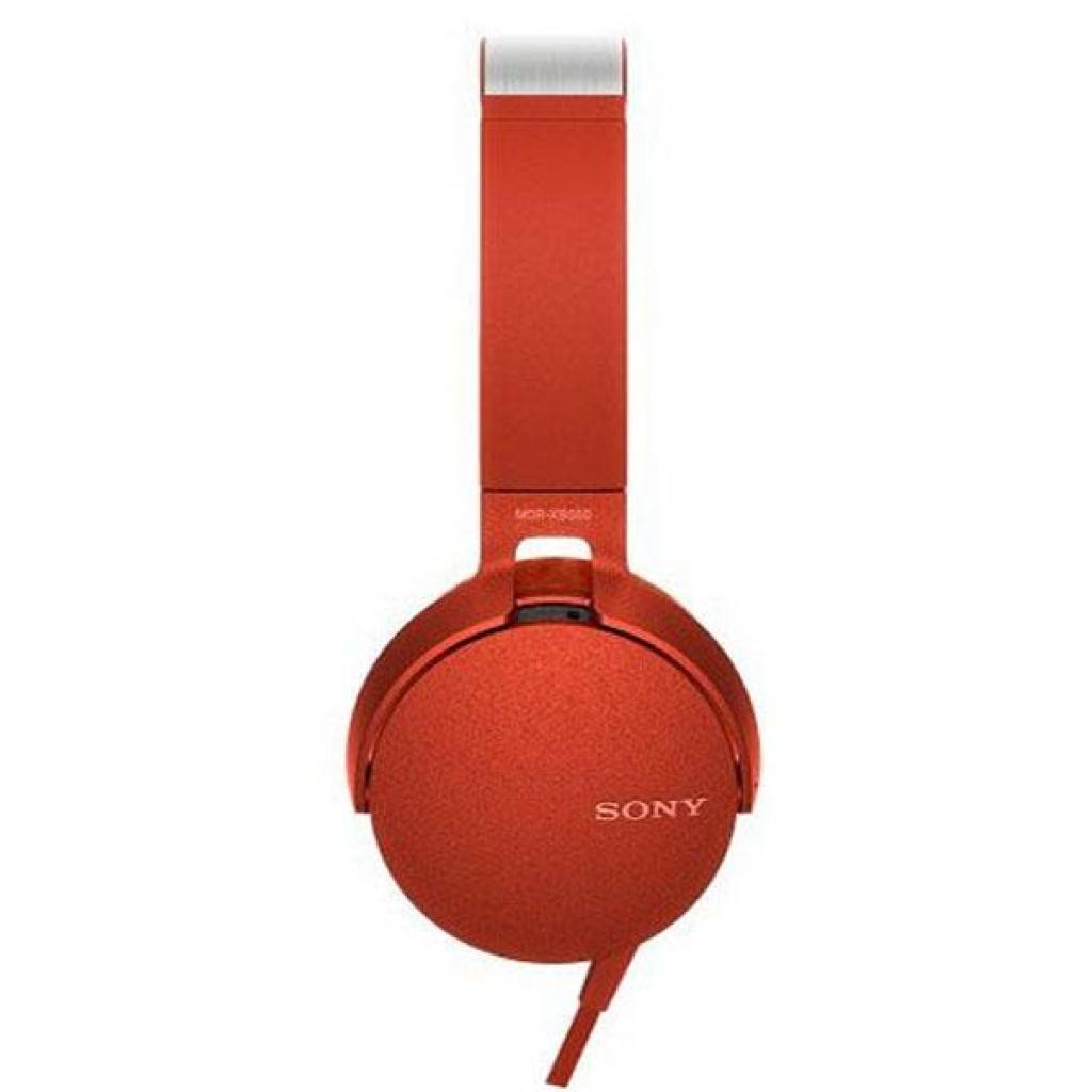 Наушники SONY MDR-XB550AP Red (MDRXB550APR.E) изображение 2