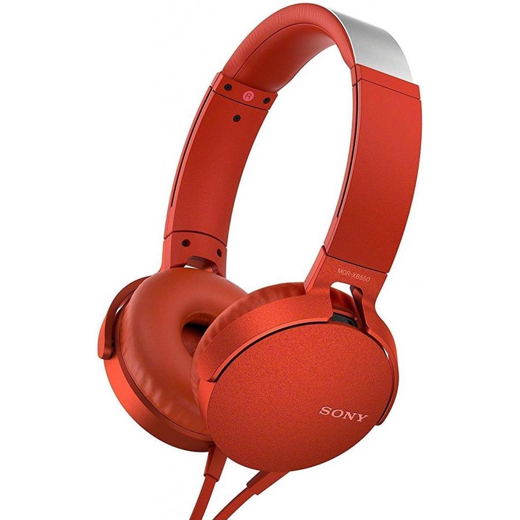 Наушники SONY MDR-XB550AP Red (MDRXB550APR.E)