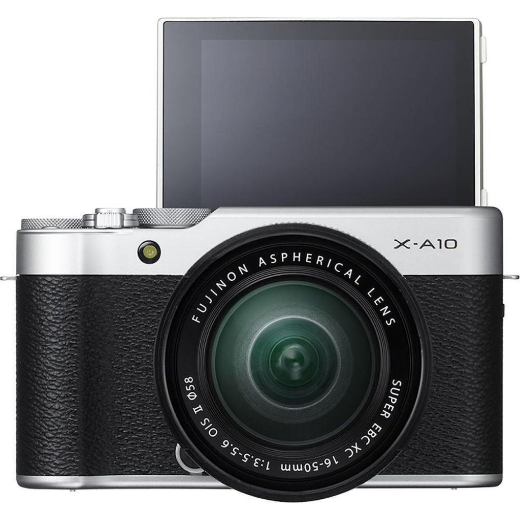 Цифровой фотоаппарат Fujifilm X-A10 XC 16-50mm Kit Silver (16534352) изображение 10