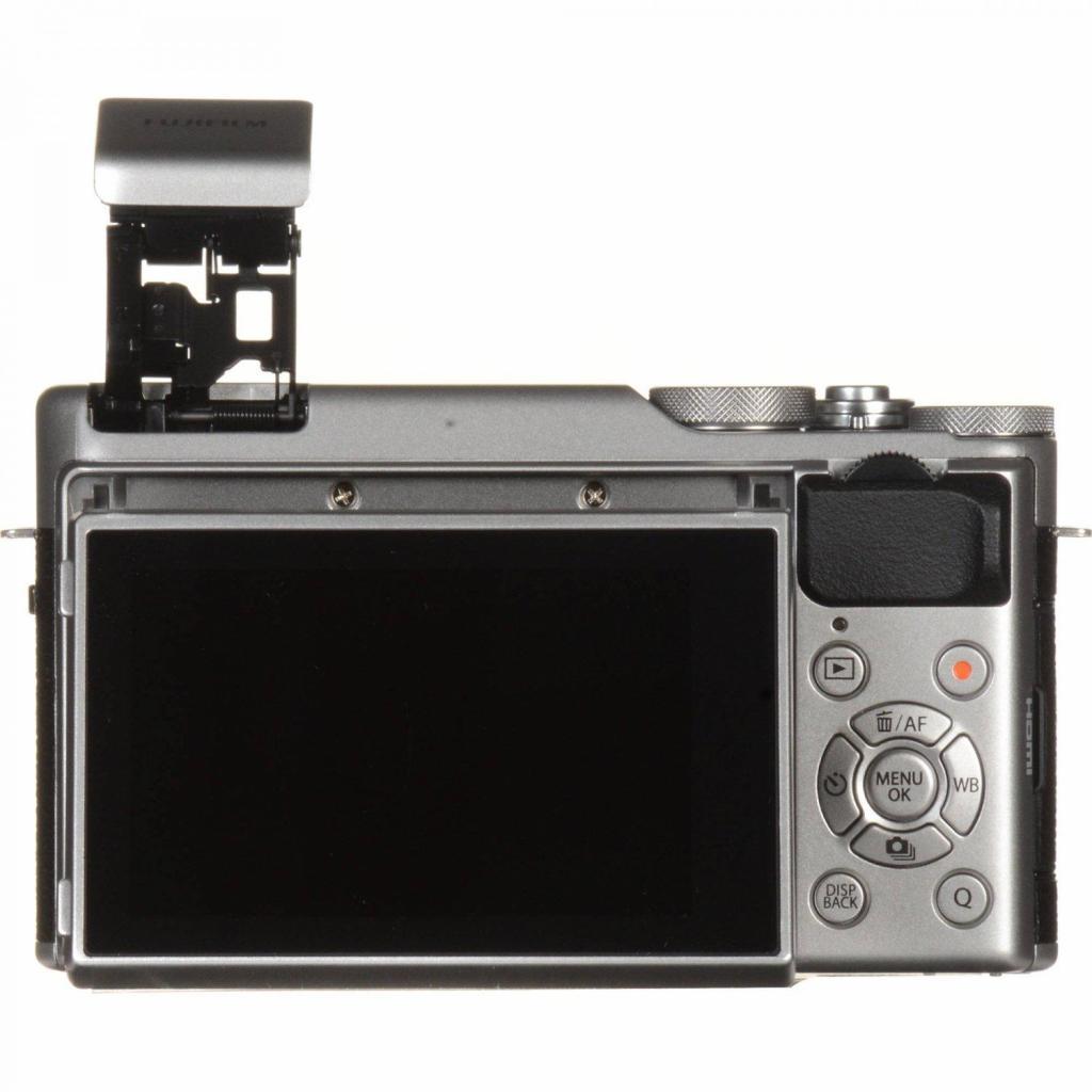 Цифровой фотоаппарат Fujifilm X-A10 XC 16-50mm Kit Silver (16534352) изображение 11