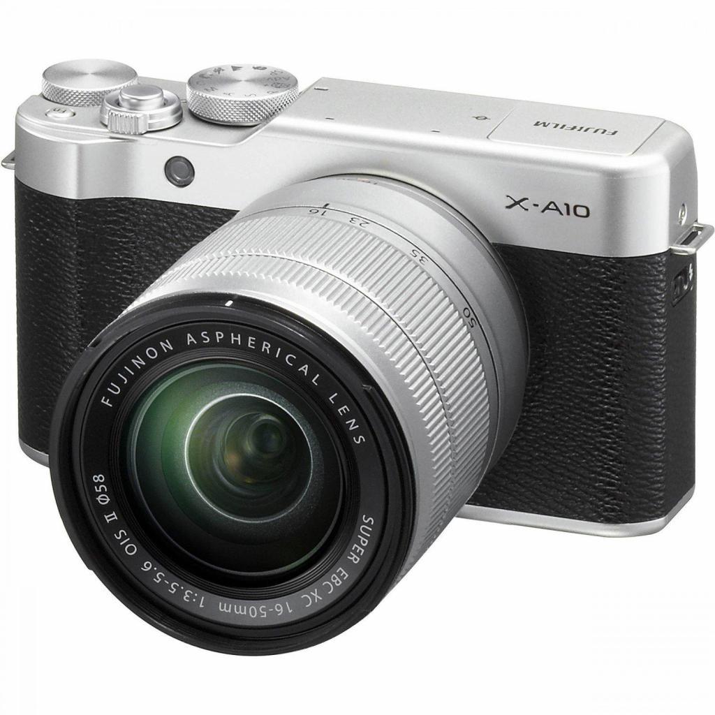 Цифровой фотоаппарат Fujifilm X-A10 XC 16-50mm Kit Silver (16534352) изображение 12
