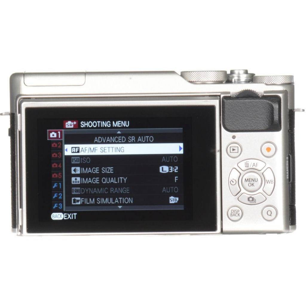 Цифровой фотоаппарат Fujifilm X-A10 XC 16-50mm Kit Silver (16534352) изображение 2