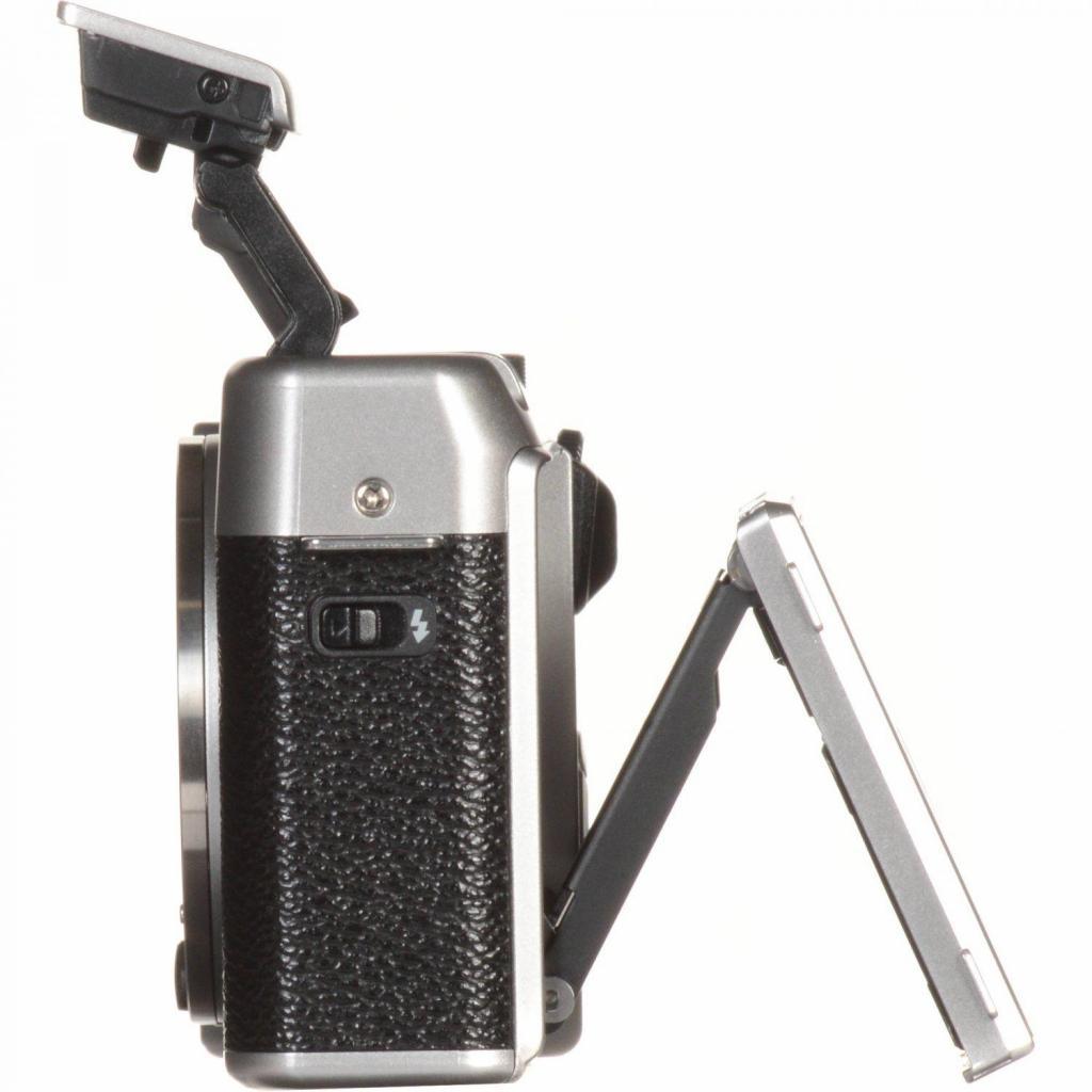Цифровой фотоаппарат Fujifilm X-A10 XC 16-50mm Kit Silver (16534352) изображение 6