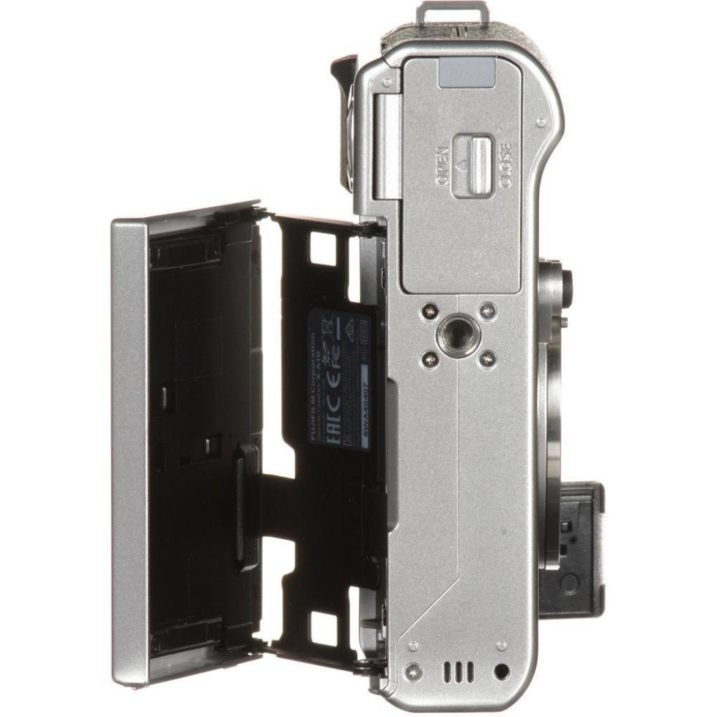 Цифровой фотоаппарат Fujifilm X-A10 XC 16-50mm Kit Silver (16534352) изображение 7