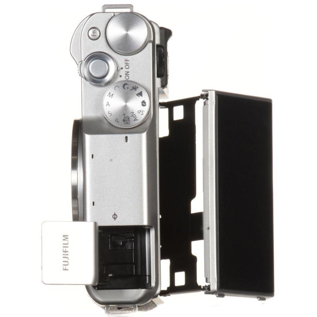 Цифровой фотоаппарат Fujifilm X-A10 XC 16-50mm Kit Silver (16534352) изображение 8