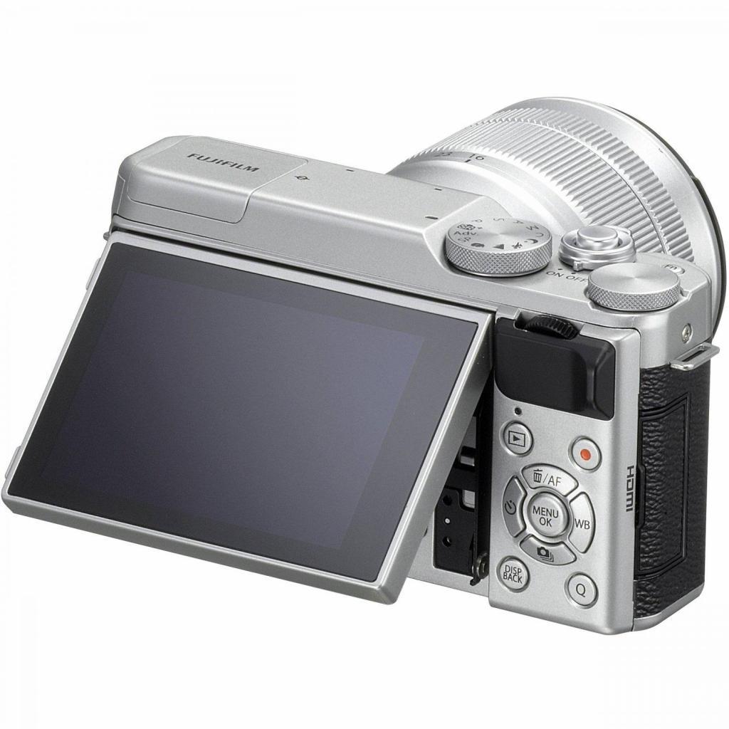 Цифровой фотоаппарат Fujifilm X-A10 XC 16-50mm Kit Silver (16534352) изображение 9