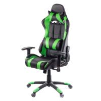 Кресло игровое АКЛАС Хорнет PL RL Зеленое (09442)