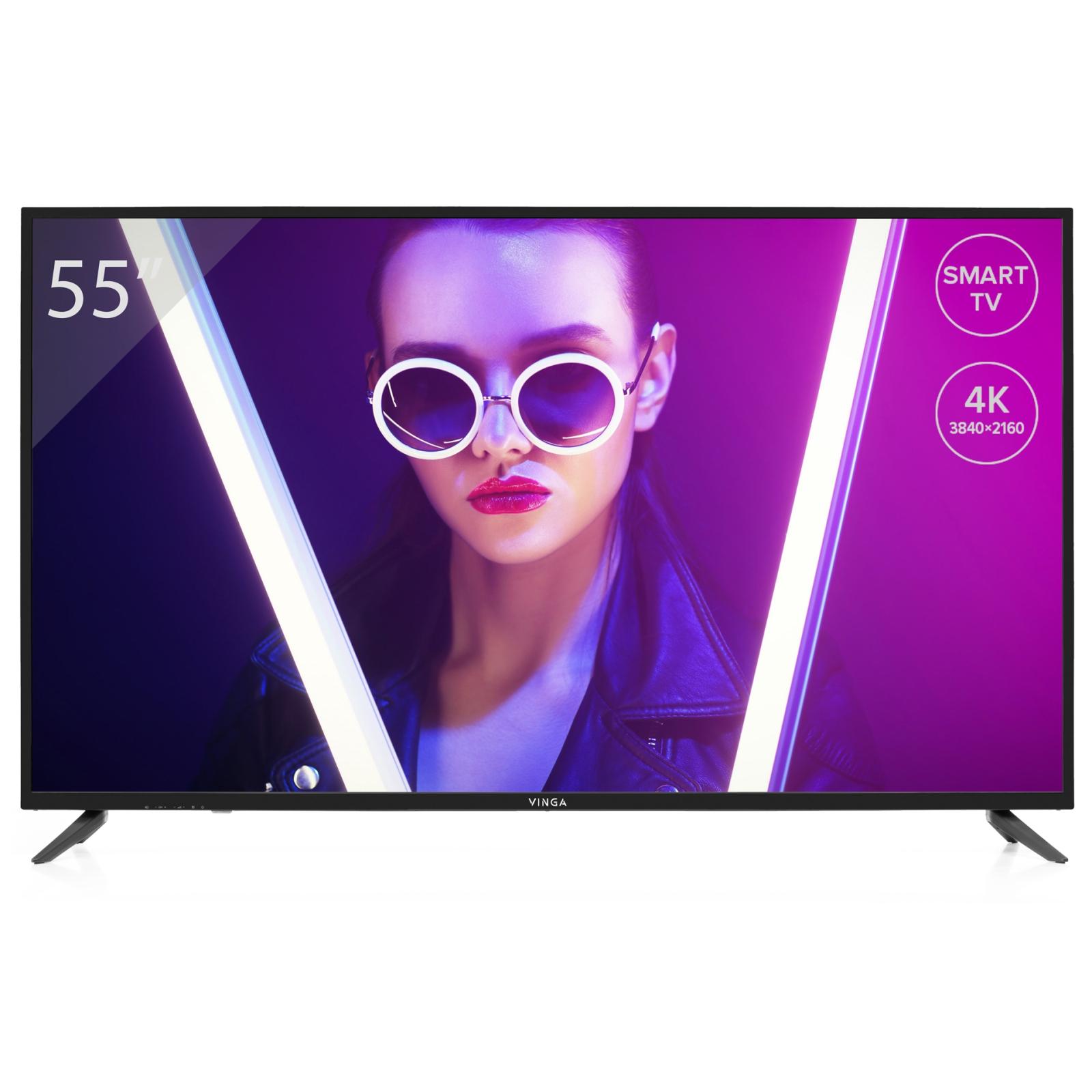 Телевізор Vinga S55UHD20B
