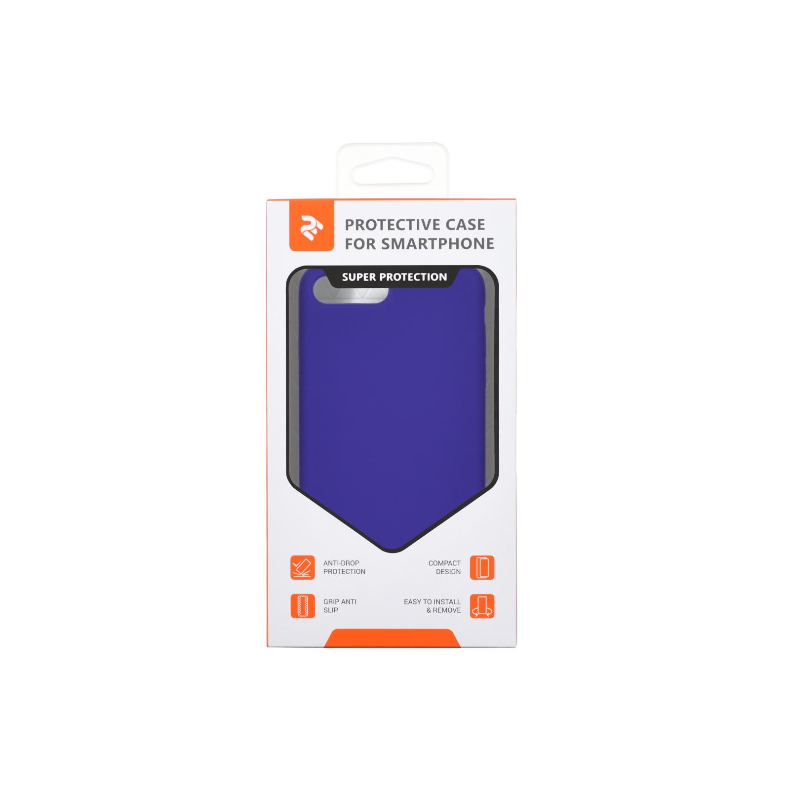 Чохол до моб. телефона 2E Apple iPhone 7/8 Plus, Liquid Silicone, Light Purple (2E-IPH-7/8P-NKSLS-LP) зображення 3