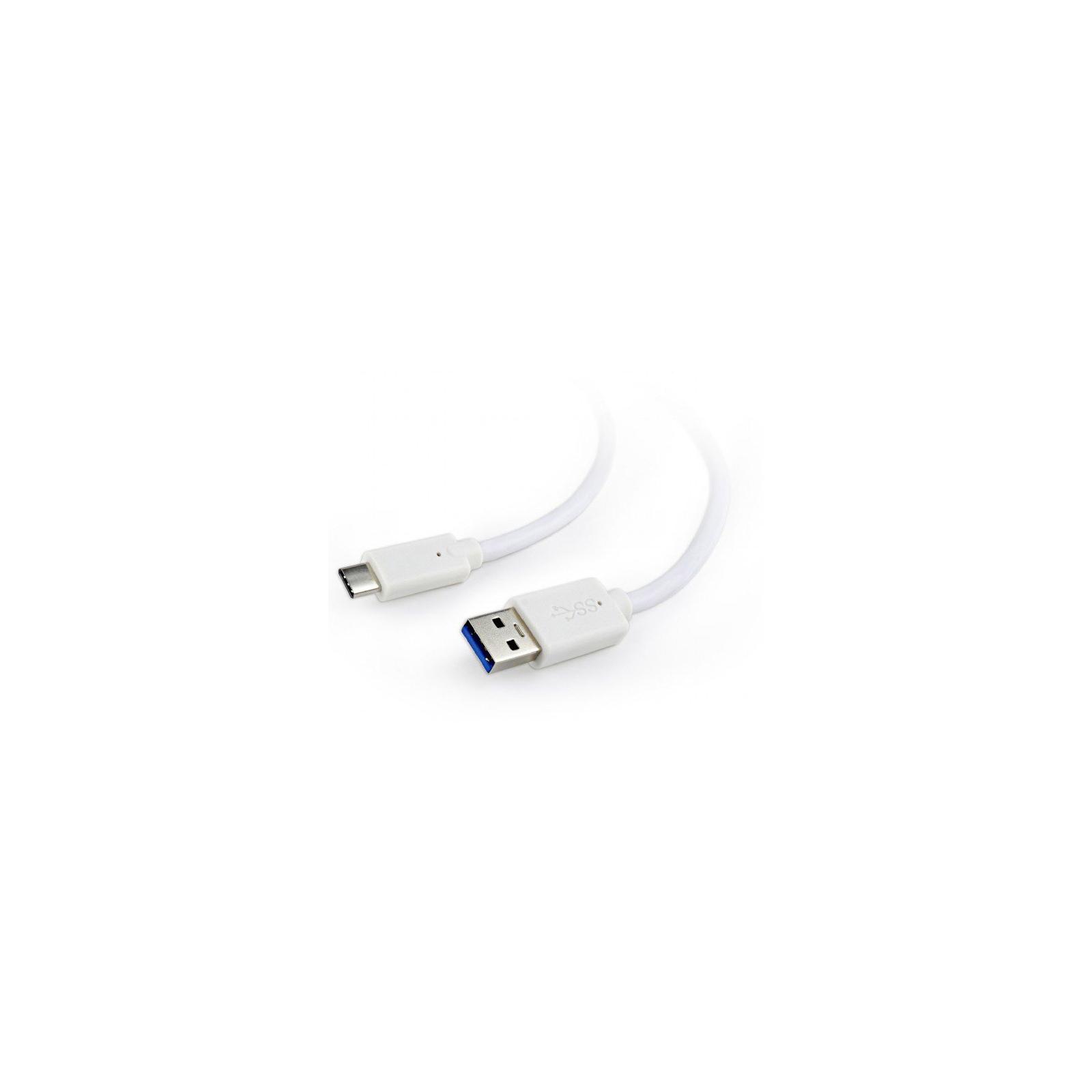 Дата кабель USB 3.0 AM to Type-C 0.1m Cablexpert (CCP-USB3-AMCM-W-0.1M)