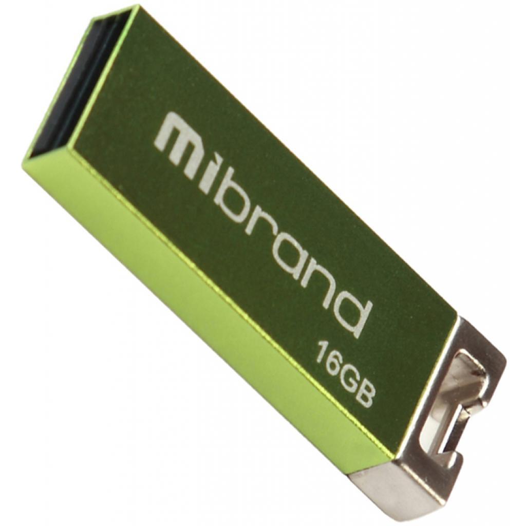 USB флеш накопитель Mibrand 64GB Сhameleon Light Green USB 2.0 (MI2.0/CH64U6LG)