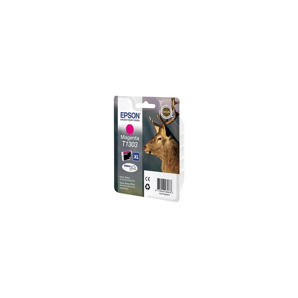 Картридж EPSON SX525WD/B42WD/BX320FW magenta XL (C13T13034010)