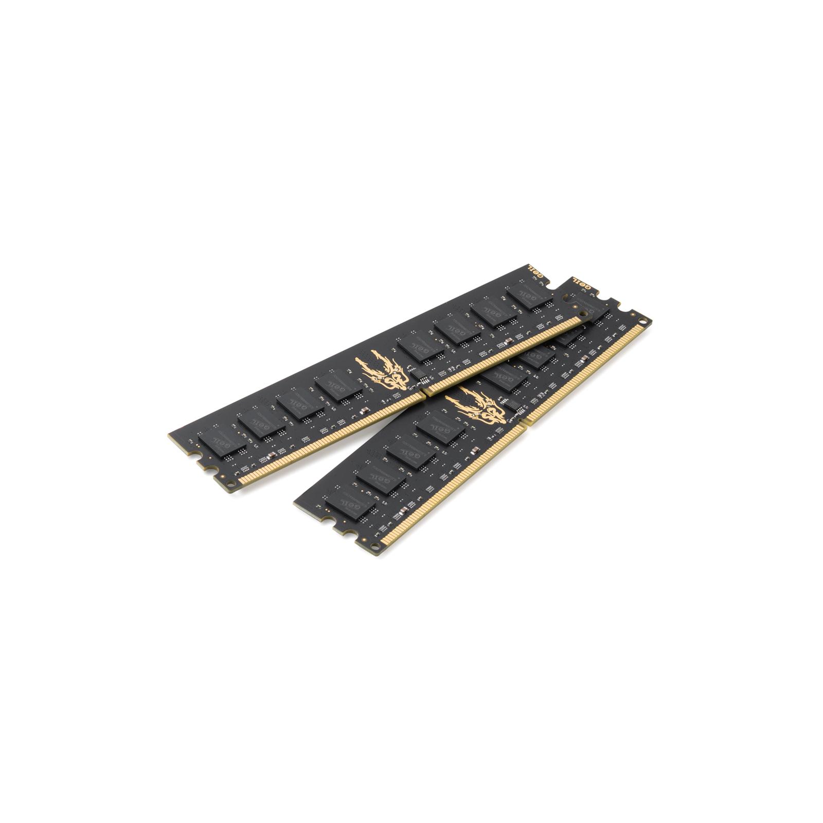 Модуль памяти для компьютера DDR2 4GB (2х2GB) 800 MHz GEIL (GB24GB6400C5DC)